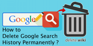 How to Delete Google History?