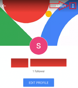 Delete Google Plus Account on Mobile Phone