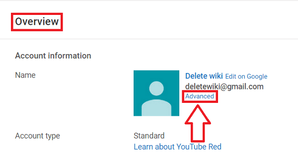 Remove YouTube Channel