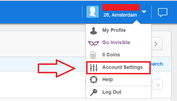 How to deactivate my zoosk account