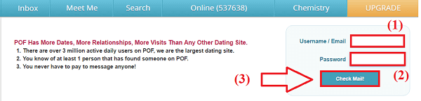 Plenty of fish dating site not working