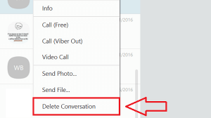 How to Delete Viber Message?