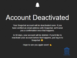 Account Deletion Complete