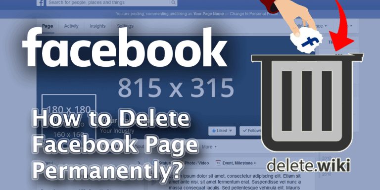 How to Delete Facebook Page Permanently?