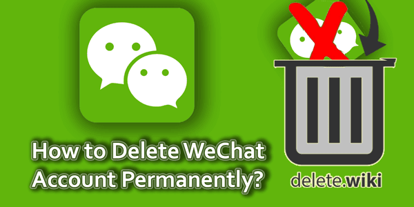 Delete WeChat Account