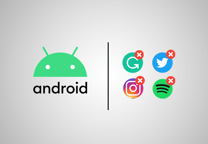 Delete Apps on Android