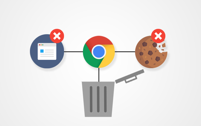 Delete Cookies and Cache in Chrome
