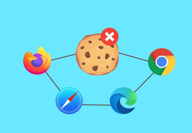 Delete Cookies and Cache in Chrome, Edge, Safari and Firefox