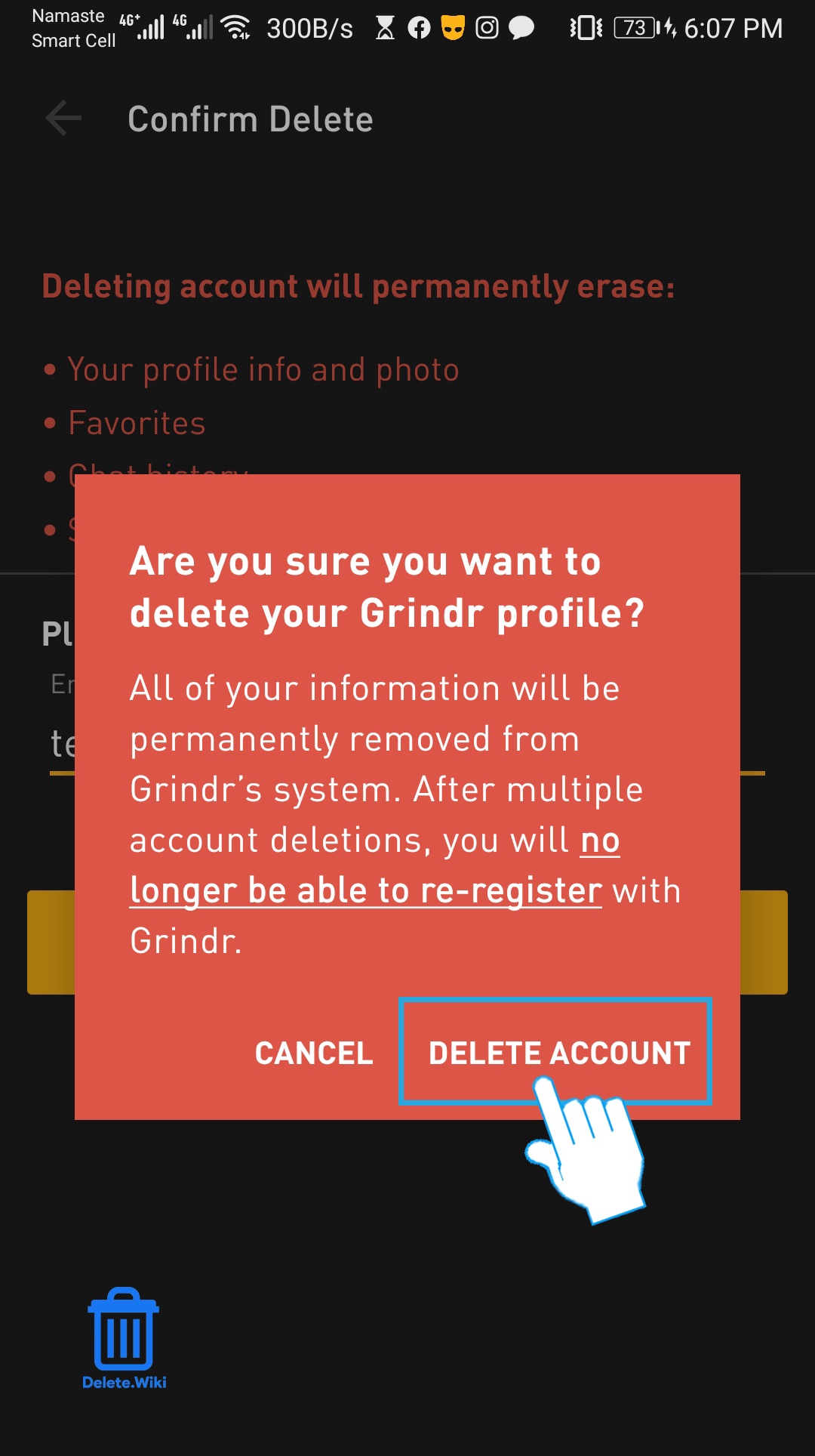 Chat backup grindr exported from