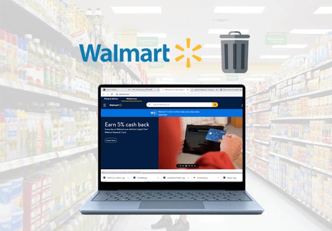 Delete Walmart Account